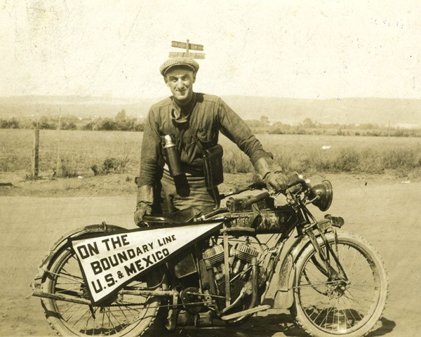 Cannonball Baker Motorcycle Cannonball 1916 Indian Powerplus Antique Motorcycle.jpg