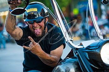Biker by Shooter Images