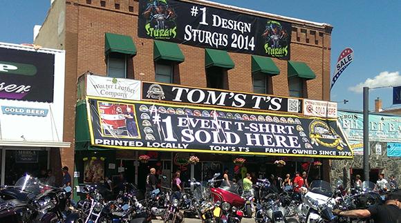 Toms' T's Sturgis